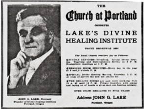 John G. Lake's Divine Healing Institute